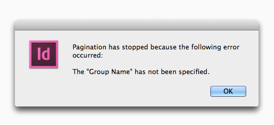 EasyCatalog Pagination Module - group name not specified error