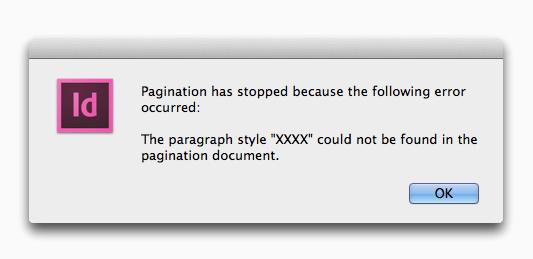 EasyCatalog Pagination Module - no paragraph style error