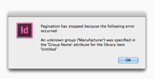 EasyCatalog Pagination Module - unknown group error